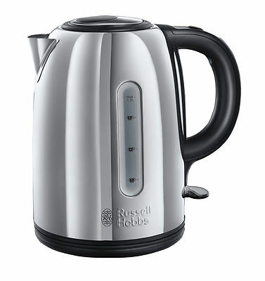 Russell Hobbs Illuminating Nevis 1.7L Polished Stainless Steel Kettle - 20442