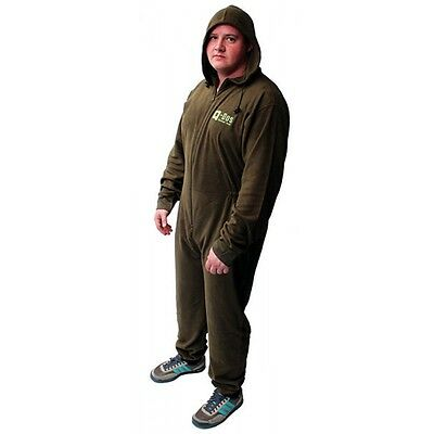 Q-DOS One Piece Fleece Thermal Undersuit Base Layer Bivvy Sleep Suit Size Option