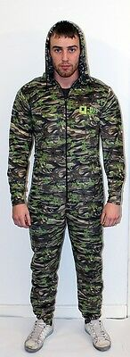 Q-DOS One Piece Camo Fleece Thermal Undersuit Base Layer Bivvy Sleep Suit Option