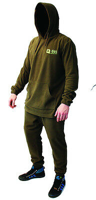 Q-DOS Two Piece Fleece Thermal Undersuit Base Layer Bivvy Sleep Suit Size Option