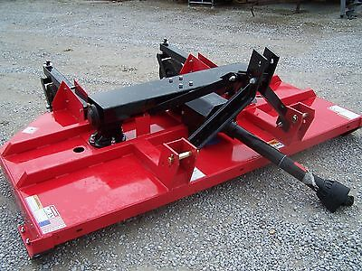 New Titan Implement 8 ft. HD Brush Hog--- **Made in USA Can ship @ $1.85 mile.