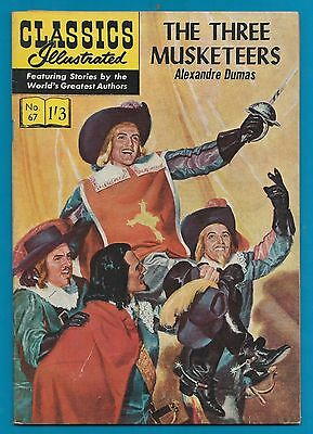 Classics Illustrated Comic The 3 Musketeers ( by Alexandre Dumas ) #902