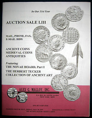 Alex G. Malloy Auction Catalog LIII 53 ( May 28. 1999) Ancient Coins & Artifacts