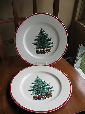 Holly & Spruce Taylor Smith & Taylor TST Dinner Plate Christmas Tree LOT 2