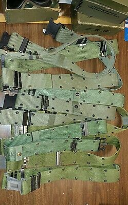 Lot of 10 Army Belts Size Large