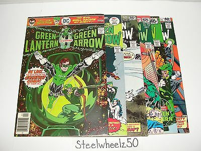 Green Lantern 6 Comic DC 1976 #90 92 105 109 111 119 Green Arrow Black Canary