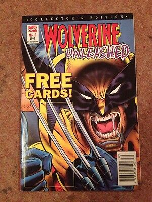 Wolverine Unleashed 3 Collector's Edition Marvel 1996