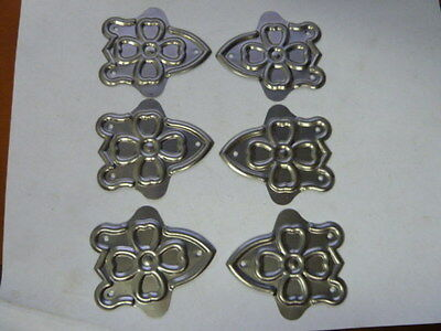 NOS Trunk Embossed Medallions for Antique Trunk Chest Lot of 6