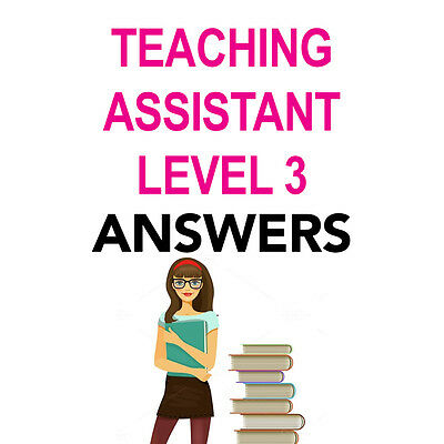 nvq level 3 teaching assistant coursework A teaching assistant's guide to completing nvq level 3 is a must-have for all teaching assistants embarking on this course, and invaluable reading for tutors and assessors this textbook addresses both the performance and knowledge requirements of the course a key element of your nvq teaching.