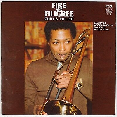 CURTIS FULLER: Fire and Filigree BEE HIVE Sam Jones Jazz LP NM- Wax