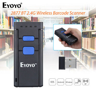 Mini Portable Pocket Wireless Bluetooth Fast Barcode Laser Scanner for Phone Win