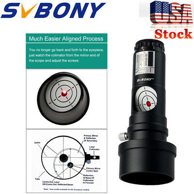 """1.25"""" Next Generation Laser Collimator  Adapter for Newtonian Telescope US Local"""