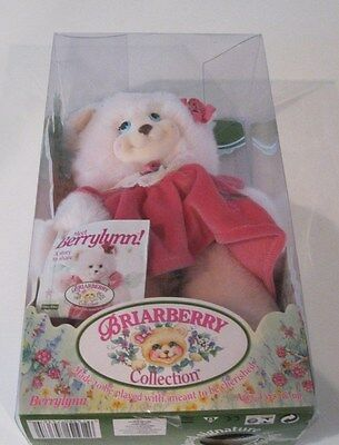 NEW NIB Briarberry Collection BerryLynn Bear Fisher Price 1999 Stuffed Toy Doll