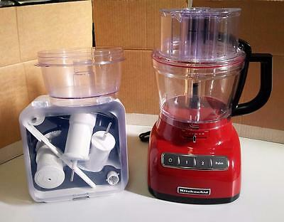 KitchenAid Food Processor in Empire Red - 5KFP1333AER