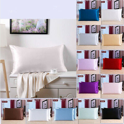 100% High Quality Pure Organic Mulberry Both Sides Silk Pillow Case - 19 Momme
