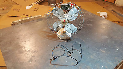 vintage coast air desk fan c to c FREE U.S. SHIPPING