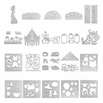 Cutting Dies Stencils Scrapbooking Embossing Album Paper Card Craft DIY July
