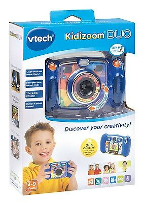 Brand New Vtech Kidizoom Duo Blue Camera 170803