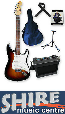 Beginner Electric Guitar Pack - Axiom Discovery Sunburst