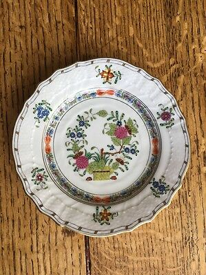 Herend China Indian Basket Bread Plate SOLD INDIVIDUALLY