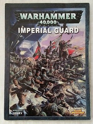 Warhammer 40K 5th Edition Codex Imperial Guard (paperback, 2008) - OOP