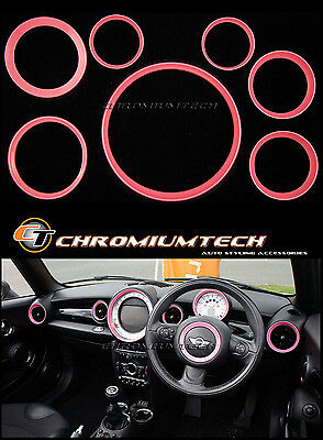 MK2 Mini Cooper/S/One R55 R56 R57 R58 Coupe R59 Roadster Pink Innen Ring