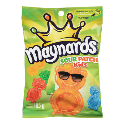Maynards Sour Patch Kids - 185g Bag FRESH From Canada
