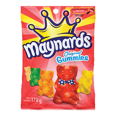 Maynards Original Gummies 170g Bag FRESH From Canada