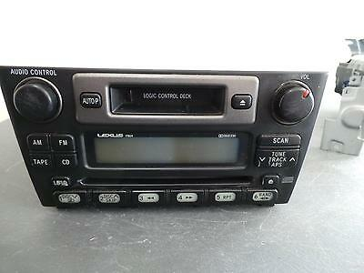 Lexus Is200/is300 Radio/cd  Standard Cd Player, 01/98-10/05 98 99 00 0