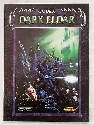 Warhammer 40K 3rd Edition Codex Dark Eldar OOP Games Workshop (1998, paperback)