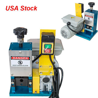 USA 110V/220V Power Motorized Copper Wire Stripping Machine Wire Cable Stripper