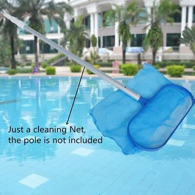 AU Stock Pond Leaf Skimmer  Cleaning Net Durable Swimming Pool Spa Hot Tub Alloy
