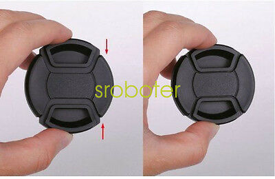 52mm Front Lens Cap Cover for Canon Nikon Sony Olympus Pentax Fuji DSLR Camera