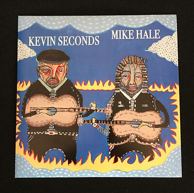 "Kevin Seconds & Mike Hale Split Vinyl 7"" Single Wasted Youth Big American Thing"