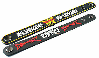 2X KILLSWITCH ENGAGE & Escape The Fate Rubber Wristband Bracelet Free Shipping