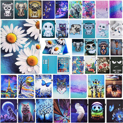 Smart Magnetic Leather Wallet Case Cover For iPad 2 3 4 / Mini 5 / Air 10.5 2019