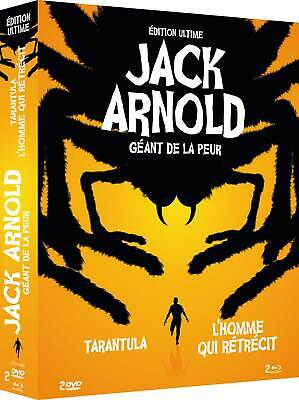 Coffret Jack Arnold Edition Collector Limitee Combo Blu-Ray + Dvd