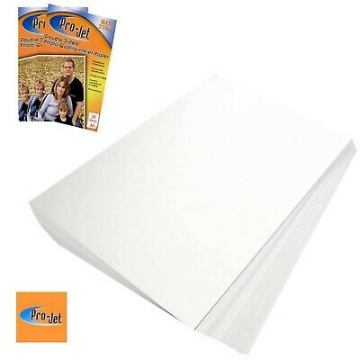 Pro-Jet Matte with Grain A4 Double Sided Inkjet Photo Paper 220gsm - 50 Sheets