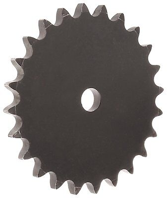 Martin Roller Chain Sprocket, Reboreable, Type A Hub, Single Strand, 100 Chain