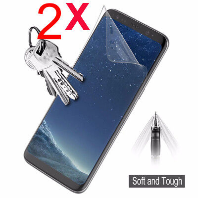 2x HYDROGEL Screen Protector Samsung Galaxy S10 S10 s7 S9 S8 Note 10 9 8 Plus 3