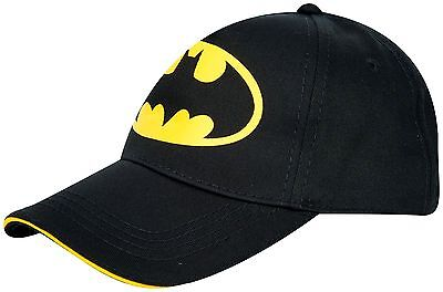 Official Batman Dc Comics Boys Junior Baseball Cap Hat New