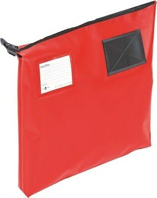 Go Secure Mail Pouch with Window Heavy Duty Red | 470 x 336 x 76mm