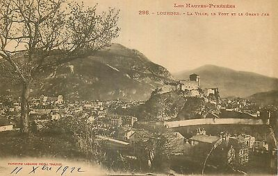65 Lourdes Ville Fort Et Grand Jer Phototypie Labouche Freres