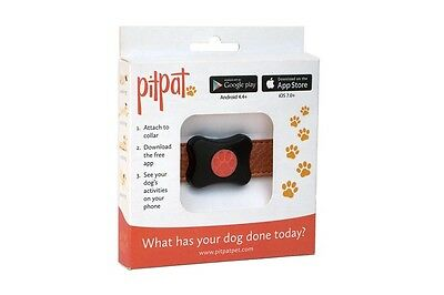 PitPat Dog Activity Fitness Monitor Collar Tracking Walking with Phone Sync