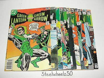 Green Lantern 11 Comic DC 1978 101 105 107 109 111 112 113 118 119 121 123 Arrow