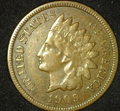 Very Nice 1909-S Indian Head Cent