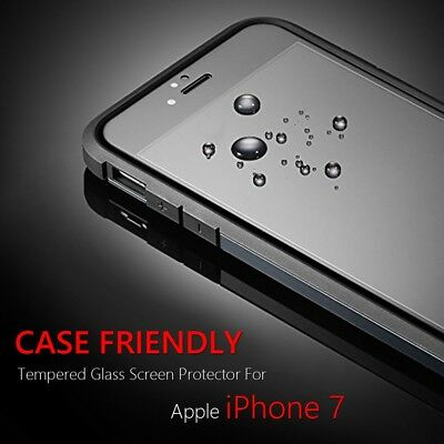 "Case Friendly Tempered Glass Screen Protector For Apple iPhone 7 (4.7"")"
