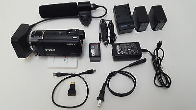 Sony HXR-MC50U Professional Video Camera with Stereo Shotgun Micorphone and Hood