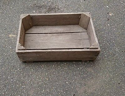 vintage wooden box crate