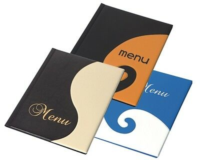SALE ! MENU COVER A4 up to 12 pages WEDDING holder menu folder design RESTAURANT
